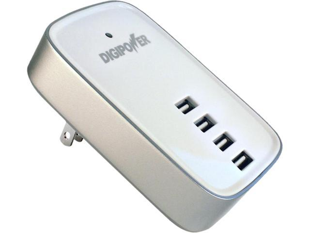 DigiPower ACD-4XRW 4-port USB Travel Charger