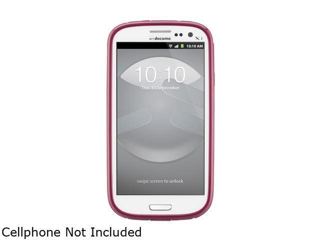 SwitchEasy Aubergine Nebula TPU Jelly Case for Samsung Galaxy S III SW-NEBG3-PU