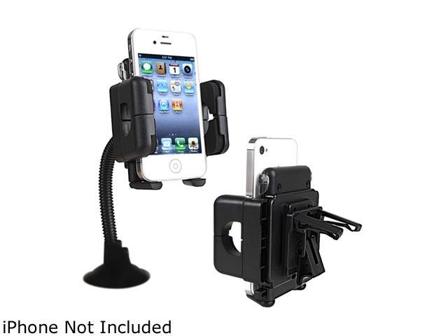Insten Windshield Phone Holder Compatible with Blackberry Z10, Black