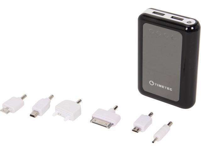 Timetec Xamp Mini Black 8400 mAh External Battery Pack with Flashlight AC-PB8400-BLK