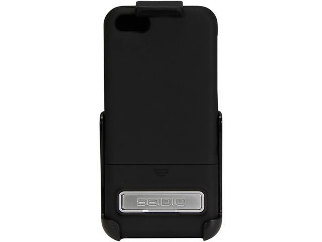 Seidio Black SURFACE With Metal Kickstand Combo For iPhone 5C BD2-HR3IPH5CK-BK