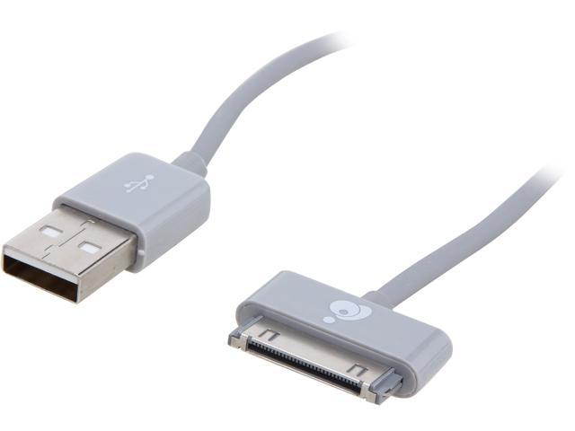 IOGEAR GUD01 Gray 3.3 ft. USB to 30-Pin cables