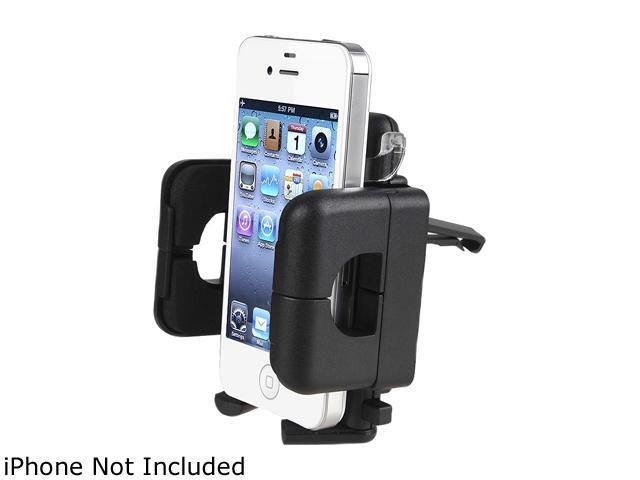 Insten Black Swivel Windshield Phone Holder For Apple iPhone 6 1927950