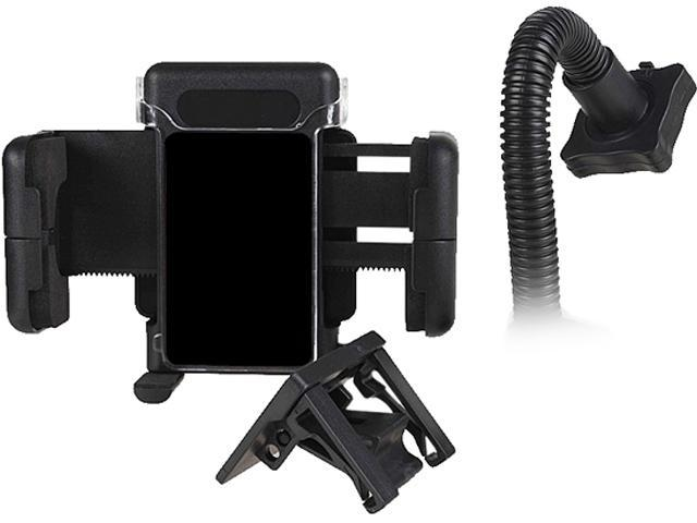Insten Black Swivel Rotating Car Windshield Phone Holder Stand for Samsung Galaxy Note 4 and More 1957879
