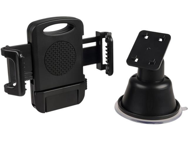 Insten Black Car Suction Cup Mount Phone Holder for Samsung Galaxy Note 4 and More 1957882