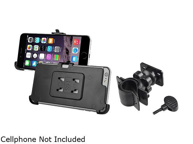 Insten Black Bicycle Phone Holder Mount and Plate for Apple iPhone 6 Plus (5.5-inch) 1997415