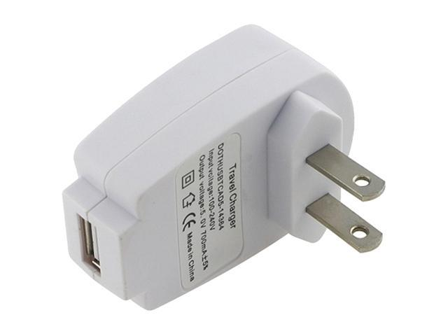 Insten USB Travel Home Wall Charger Adapter compatible with Samsung Galaxy S4 / SIV / i9500, White