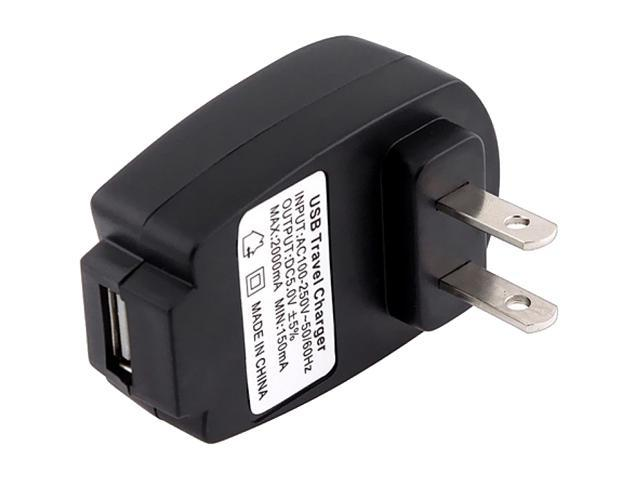 Insten USB Travel Home Wall Charger compatible with Samsung Galaxy S4 / SIV / i9500, Black