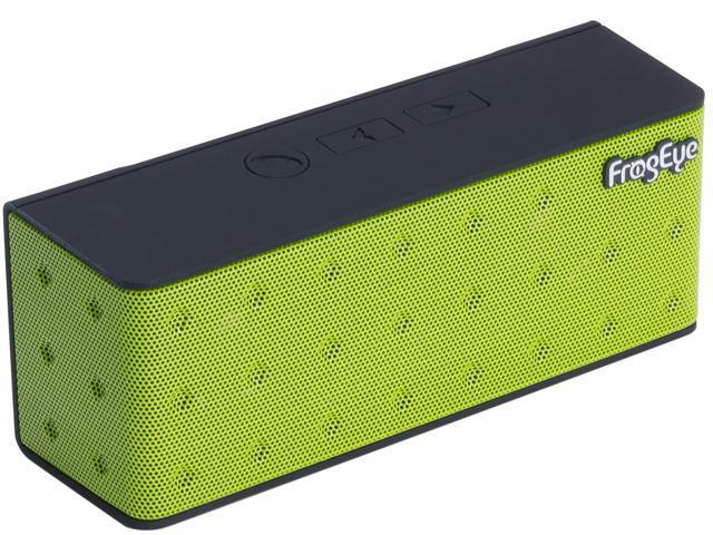 FrogEye HotBox S7+ Green Bluetooth Speaker Speakerphone Power Bank