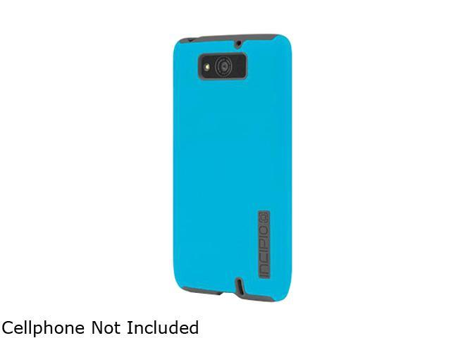 Incipio Cyan Blue/ Charcoal Gray DualPro Hard-Shell Case with Silicone Core for the Motorola DROID Maxx MT-300