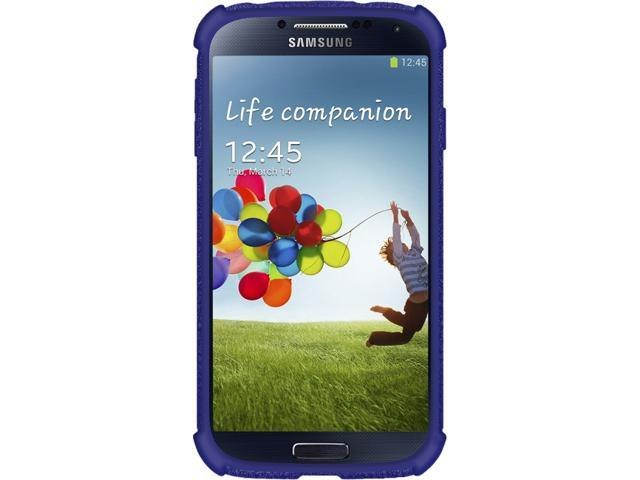 AMZER Blue Silicone Skin Jelly Case For Samsung GALAXY S4 AMZ95554