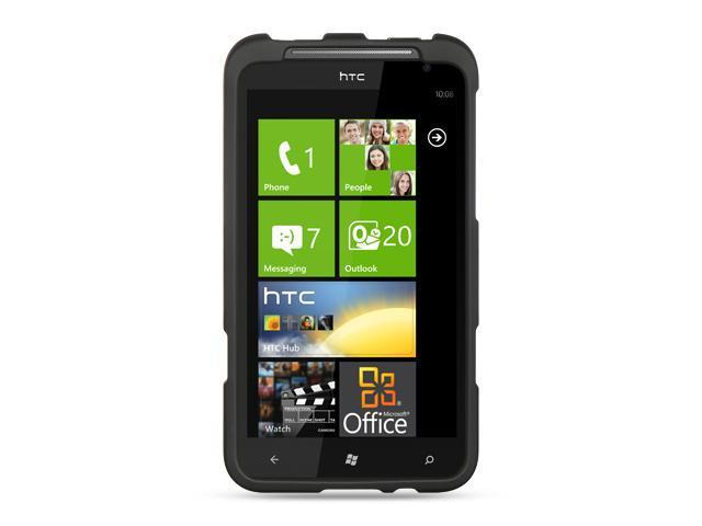 HTC Titan Black Crystal Rubberized Case