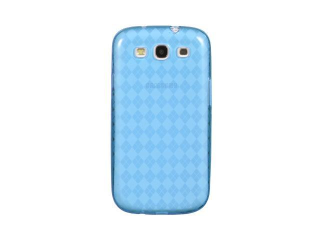 Luxmo Blue Blue Checker Design Case & Covers Samsung Galaxy S III/Samsung I9300/Samsung I747