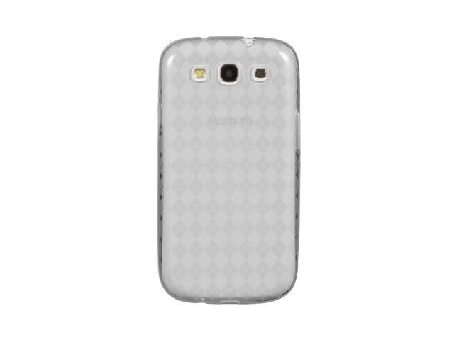 Luxmo Clear Clear Checker Design Case & Covers Samsung Galaxy S III/Samsung I9300/Samsung I747