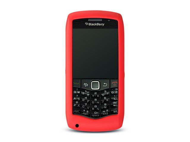 BlackBerry Pearl 9100 Red Silicone Skin