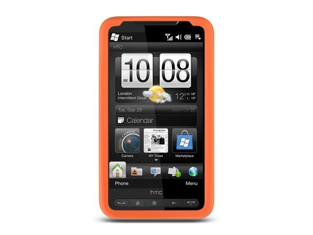 HTC HD2 Orange Silicone Skin