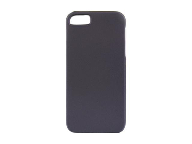 Luxmo Purple Solid Rubberized Snap-on Case For iPhone 5 CRIP5PP
