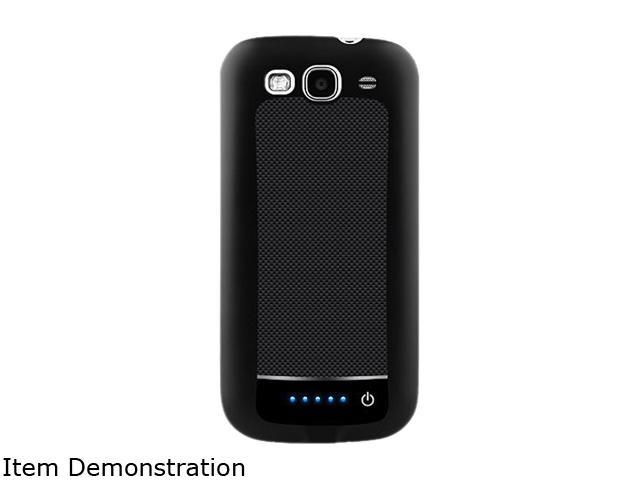 LifeCHARGE Black 2100 mAh Battery Case for Samsung Galaxy S3 ONT-PWR-34747