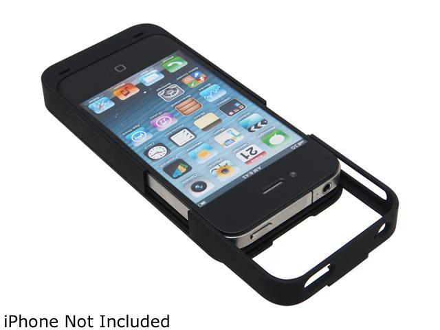LifeCHARGE Black 2000 mAh Battery Case for iPhone 4 / 4s ONT-PWR-35065
