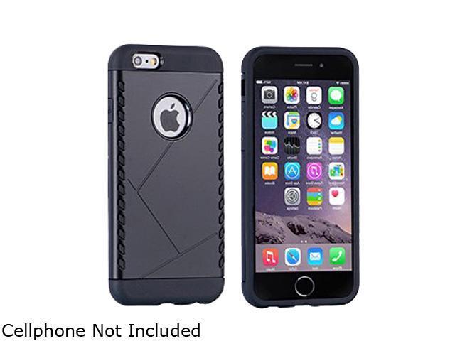 Wireless Xcessories Group Black iPhone 6 / 6s Shocker Hybrid Case HB6BK