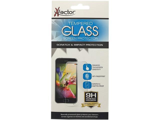 Xfactor Clear Tempered Glass Screen Protector for LG K7 / Tribute 5 TEMPXFLGK7