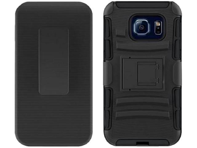 Wireless Xcessories Group Samsung Galaxy S7 Edge Kickstand Holster Shell Combo FXCOVGS7EDGE