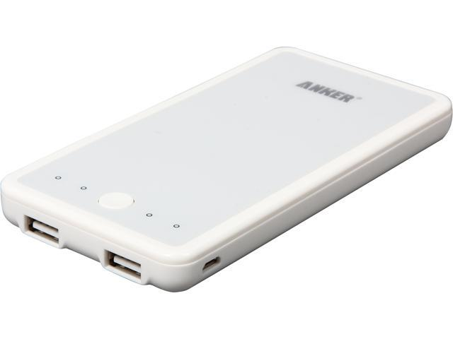 Anker Astro 3E White 10000 mAh External Battery 79ANS1052-WA