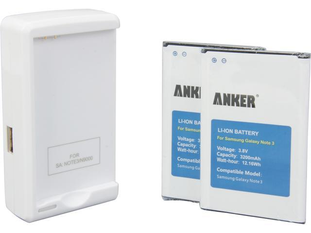 Anker 3200 mAh 2 x 3200mAh Li-ion Replacement Batteries 70SMNOTE3-S12P1NA