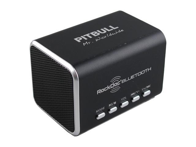 Pitbull RockDoc BLUETOOTH Portable 2way Speaker Black 900586, Black
