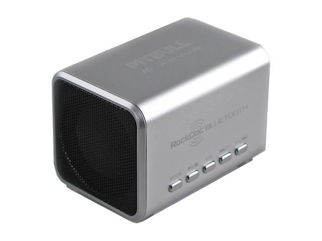 RockDoc 900583 Pitbull BLUETOOTH Portable 2way Speaker