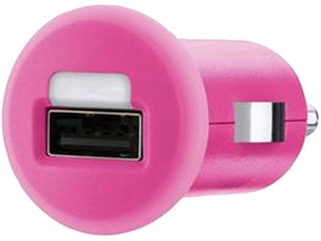BELKIN F8J002ttPNK Pink Car Charger (10 Watt/2.1 Amp)