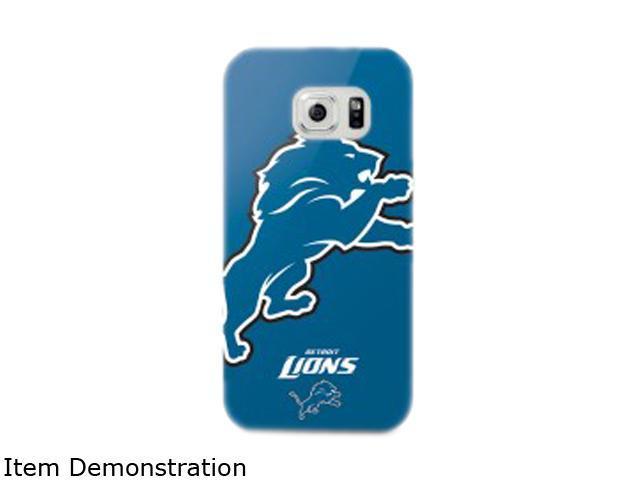 ma sports Oversized Logo Snap Back NFL Samsung Galaxy S6 Detroit Lions NFL-OVSG6-LNS