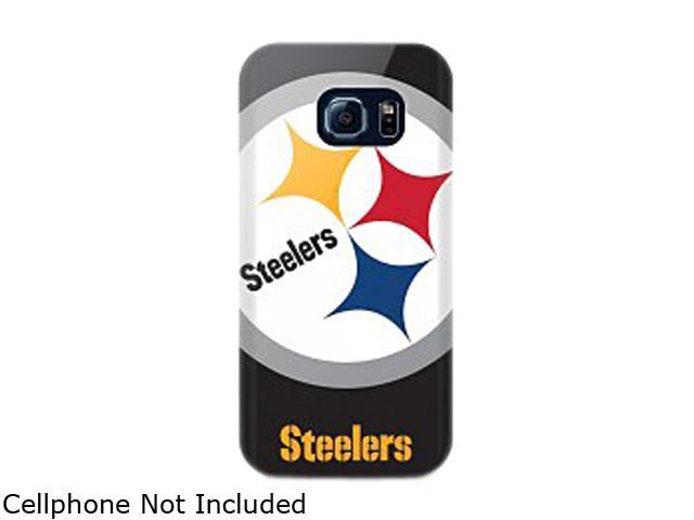 ma sports Oversized Logo Snap Back NFL Samsung Galaxy S6 Edge Pittsburg Steelers NFL-OVG6E-STLR