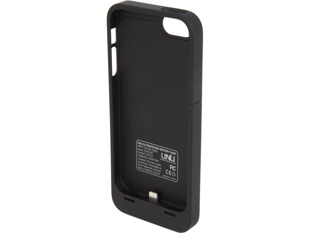 UNU DX Black 2300 mAh Protective Battery Case for iPhone 5 UNU-DX-05-2300B