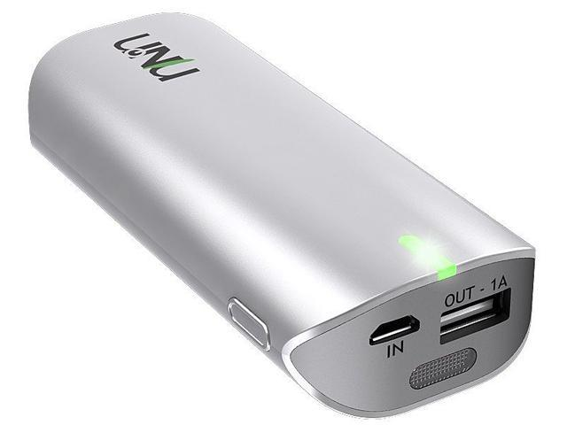 UNU 8000 mAh Enerpak Tube Portable Battery Pack 8000mAh (2 port w/ Flash) EP-02-8000W