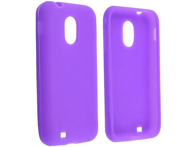 Insten Purple Silicone Case For Samsung Epic 4G Touch D710 858262