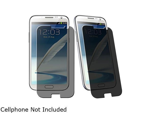 Insten Privacy Filter Screen Protector For Samsung Galaxy Note II N7100 857464