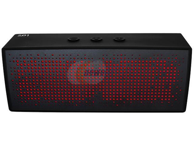 Antec SP-1 Black Portable Wireless Bluetooth Speaker & Speakerphone