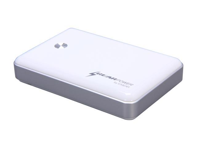 IOGEAR GearPower White 11000 mAh Mobile Power Station GMP10K