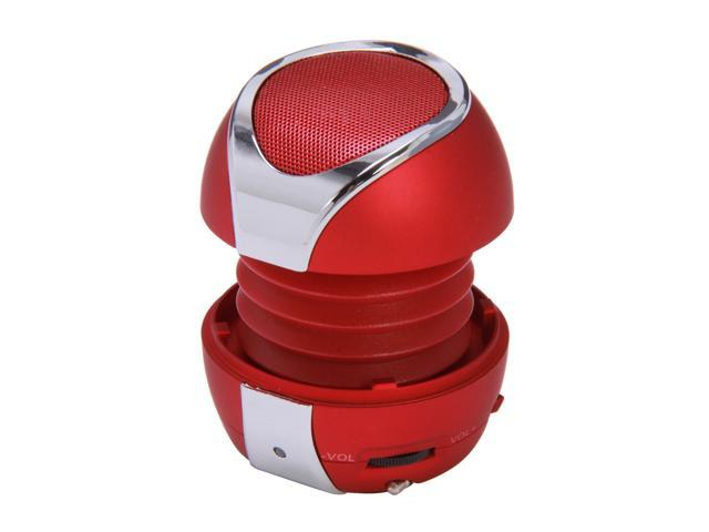 FiGo Red 3.5mm Mini Speaker Solar