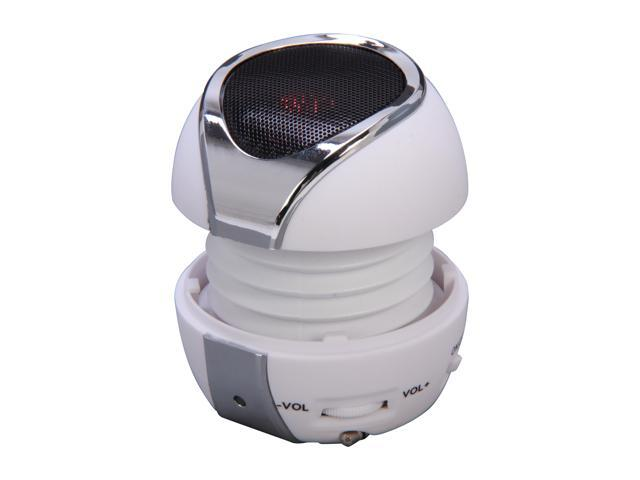 FiGo White 3.5mm Mini Speaker Solar