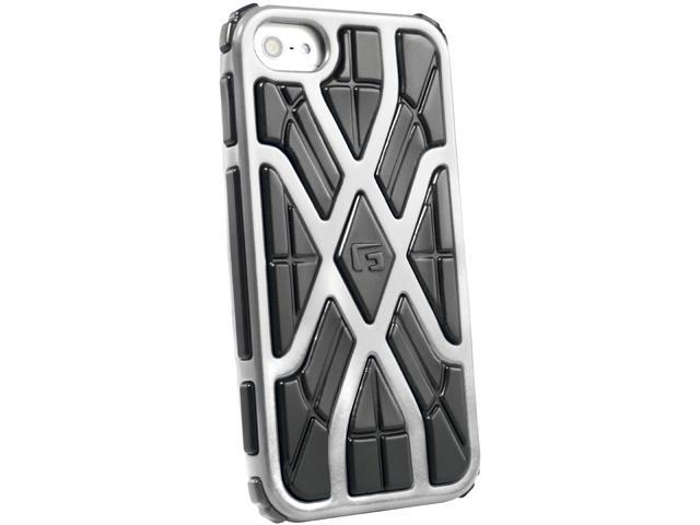 G-Form XTREME X Ruggedized Protective Case for Apple iPhone 5 (Silver/Black RPT)