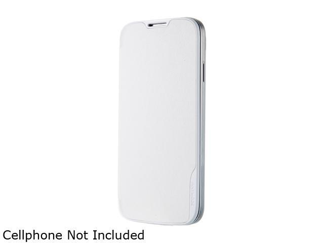 ANYMODE White Folio Hard Cover For Samsung Galaxy S4 BRFH000NWH