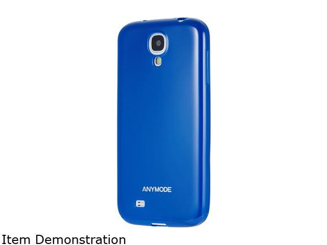 ANYMODE Blue Jelly Case For Samsung Galaxy S4 BRJC000NBL
