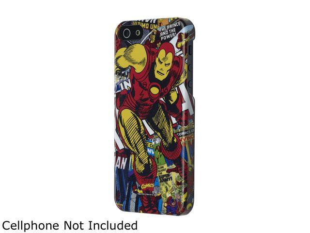ANYMODE Marvel iPhone 5 / iPhone SE Hard Case, Iron Man BBHC008NA2