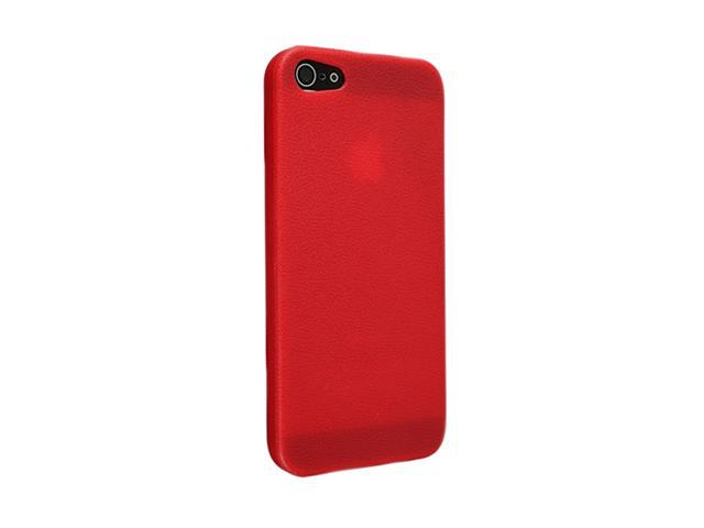 Insten Red Skin Veins 1X TPU Rubber Skin Case For iPhone 5 712653
