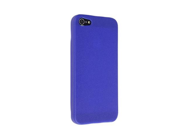 Insten Blue Skin Veins 1X TPU Rubber Skin Case For iPhone 5 712654