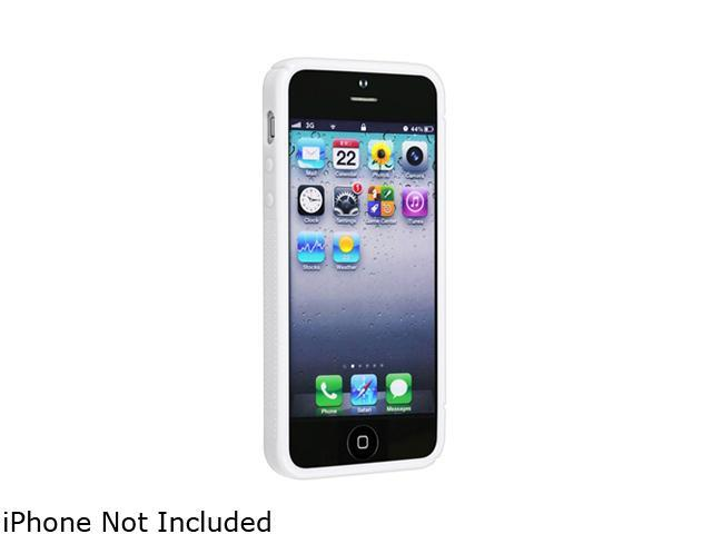 Insten White S Shape 1X TPU Case w/ Stand For iPhone 5 712661