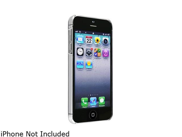 Insten Clear 1X Snap-on Slim Case For iPhone 5 712650