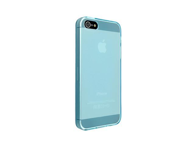 Insten Frost Clear Light Blue 1X TPU Case For iPhone 5 / 5S 712667
